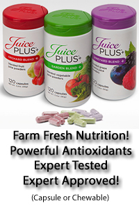 Juice Plus Small Banner