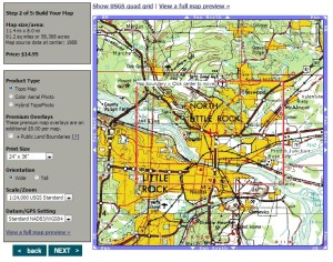 Custom MGRS Topographical Maps PrepperResourcescom The - 1 50000 topo map us military