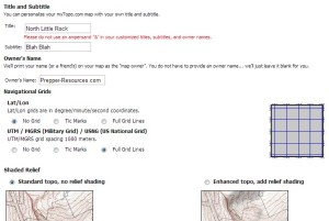 Custom MGRS Topographical Maps PrepperResourcescom The - Mgrs maps for sale