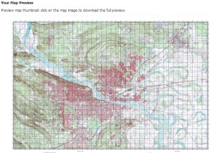 custom mgrs topographical maps prepper resources the