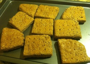 Hardtack Cooked