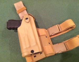 Safariland Leg Drop Holster Glock