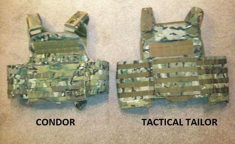 Condor Vs Tactical Tailor Plate Carrier Review & Plate Carrier Review: Condor MOPC vs Tactical Tailor TTRAC | Prepper ...