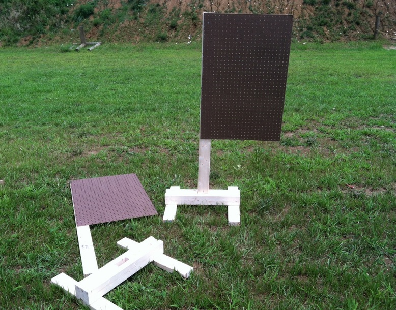 diy takedown target stands prepper resources com the ultimate