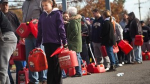 Gas shortages after Hurricane Sandy