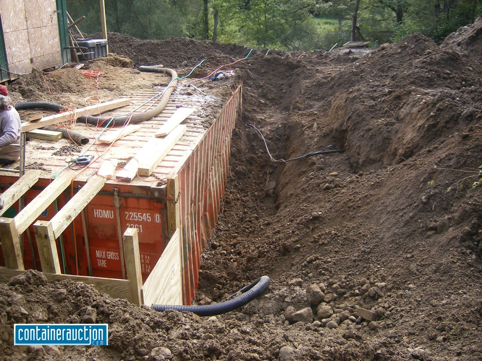 Top underground container bunkers wallpapers - Shipping container homes underground ...