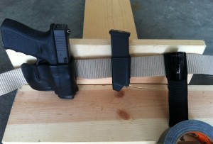 Bedside Holster Test Fit