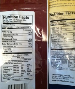 Chili Mac Nutritional Info