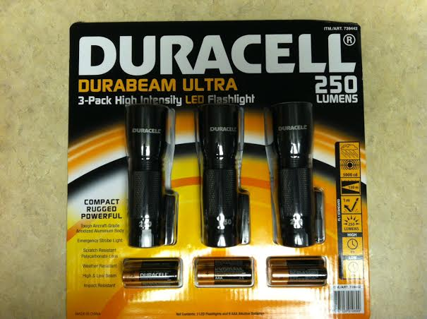 Duracell Tac Light 3 Pack