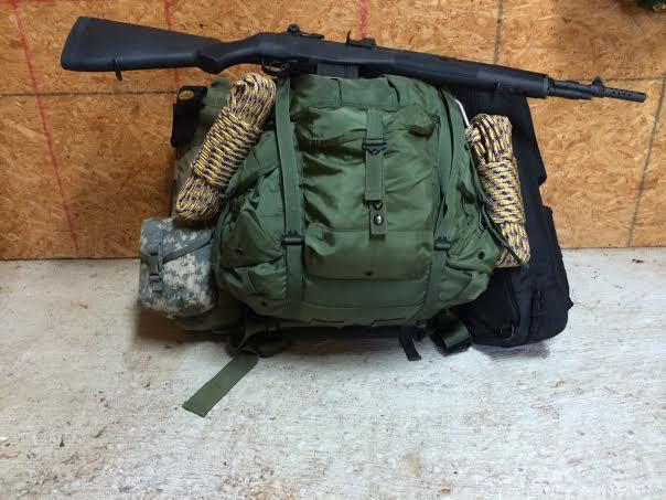 Large Rucksack, Commo Bag, Ruger 10/22 Takedown