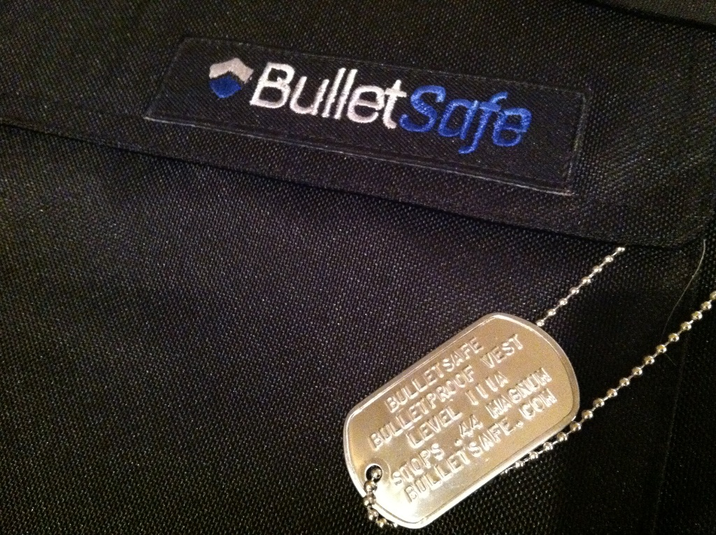 BulletSafe Armor Logo and Dogtag