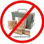 M855 Green Tip Ammo Ban