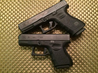Glock 19 and 26 Size Difference, especially in the grip length