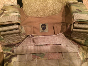 Bellator Plate Carrier Drag Handle