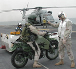 15th MEU Marines Load into Helo