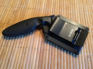 Ka Bar TDI LEO Knife and Sheath Clip