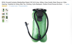 BONL Hydration Bottle on Amazon
