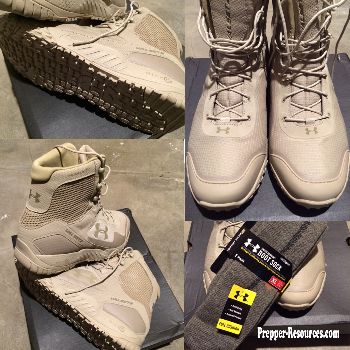 Tactical Boots Review Under Armour Rts Valsetz Prepper