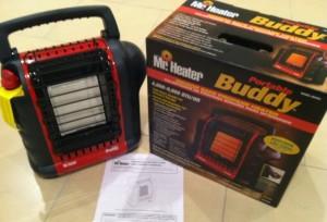 Safe Indoor Heating Mr Heater Portable Buddy Prepper